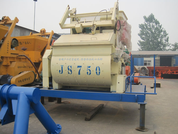 JS500/JS750 Concrete Mixers to the Philippines